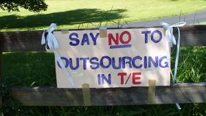Say NO to outsourcing in TESD
