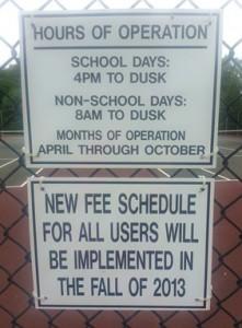 VFES Tennis Courts
