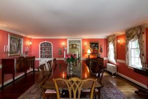 Beautiful 18th c dining room