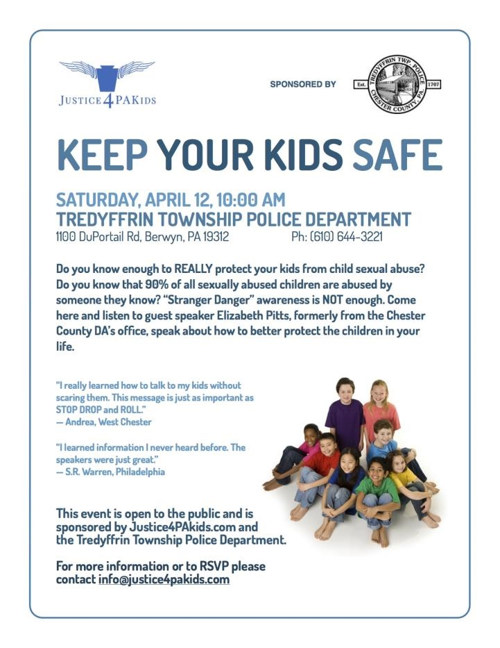 Keep your kids safe