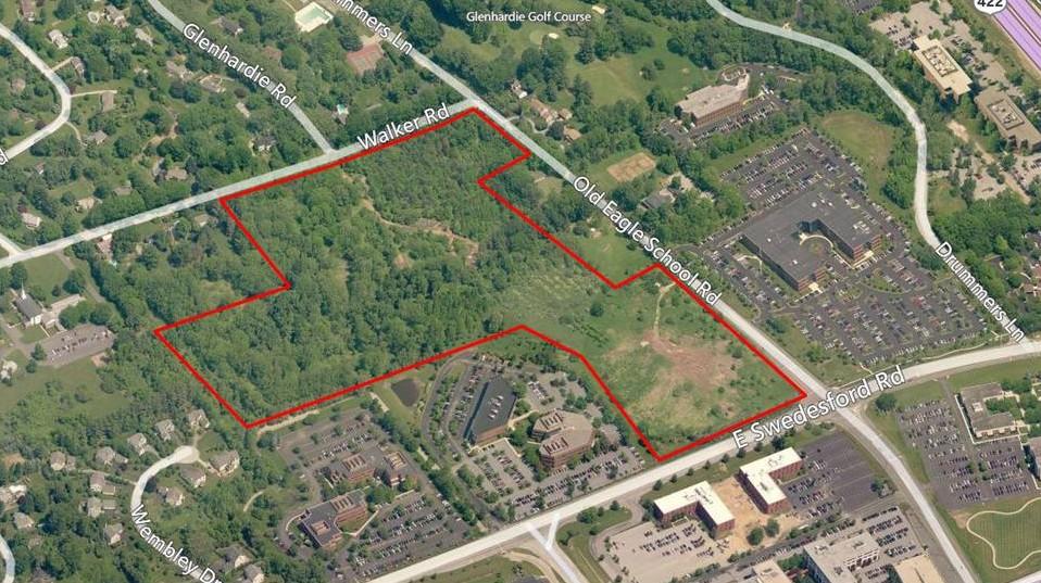 Wayne Glenn aerial map