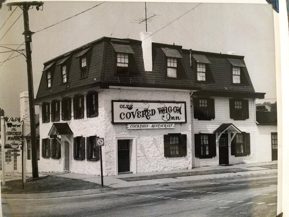 Covered Wagon Inn early photo